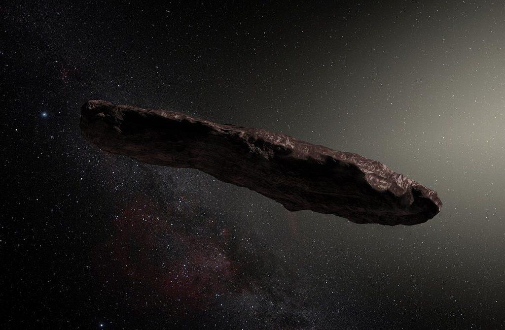 接近太阳系的雪茄形物体可能是一颗外星人探测器?